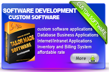 Customise Software development coimbatore